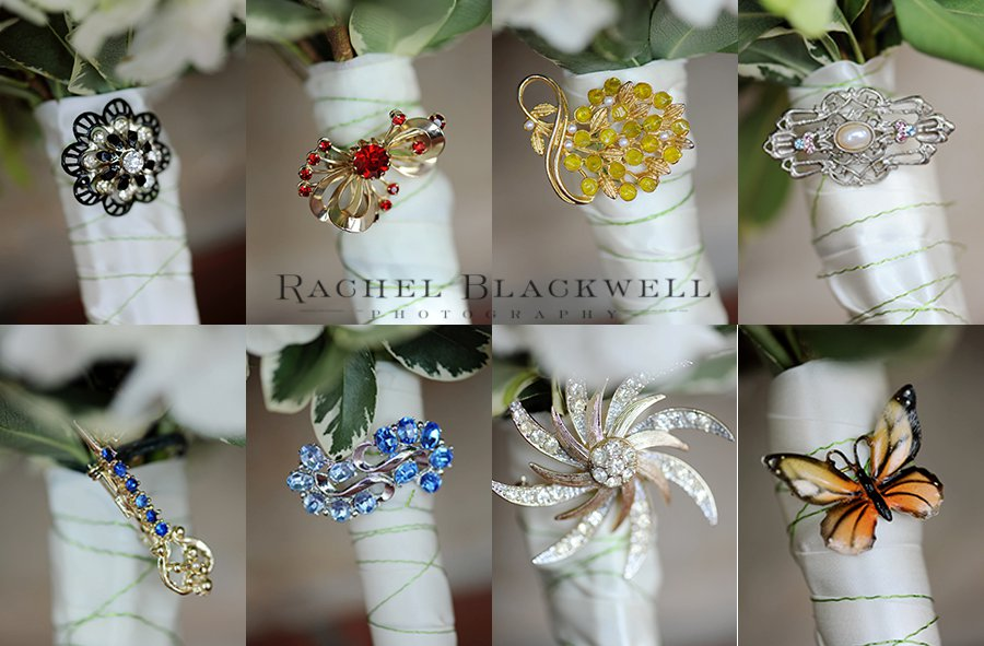Peacock & Hydrangea Wedding, First Christian Church, Rachel Blackwell Photography, Weddings by Karie, Bouquet Accents