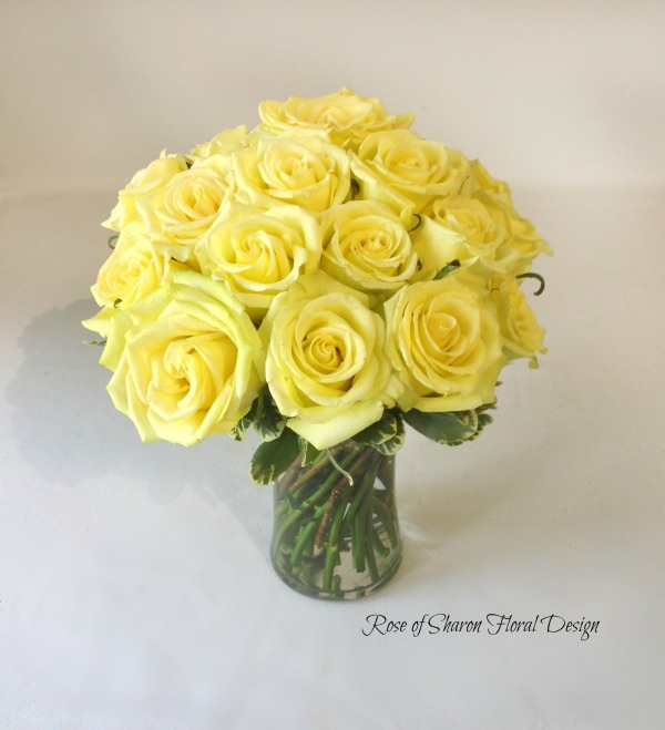 Contemporary Rose Arrangement, Rose of Sharon Floral Designs