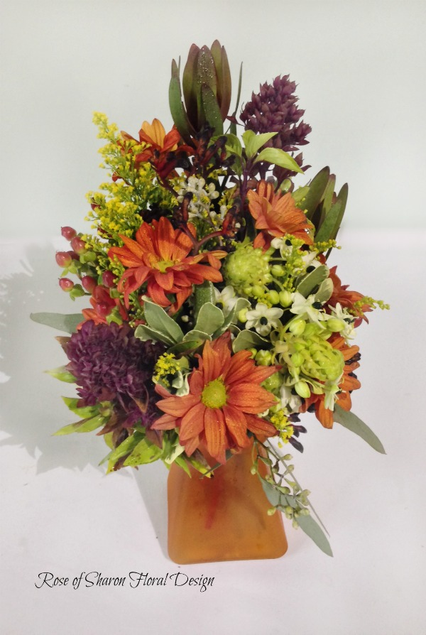 Fall Seasonal Mix, Rose of Sharon Floral Designs