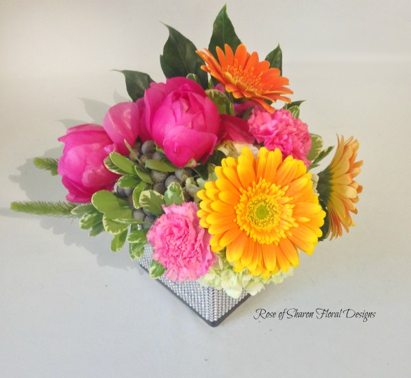 Peonies, Daisies and Carnations, Rose of Sharon Floral Designs