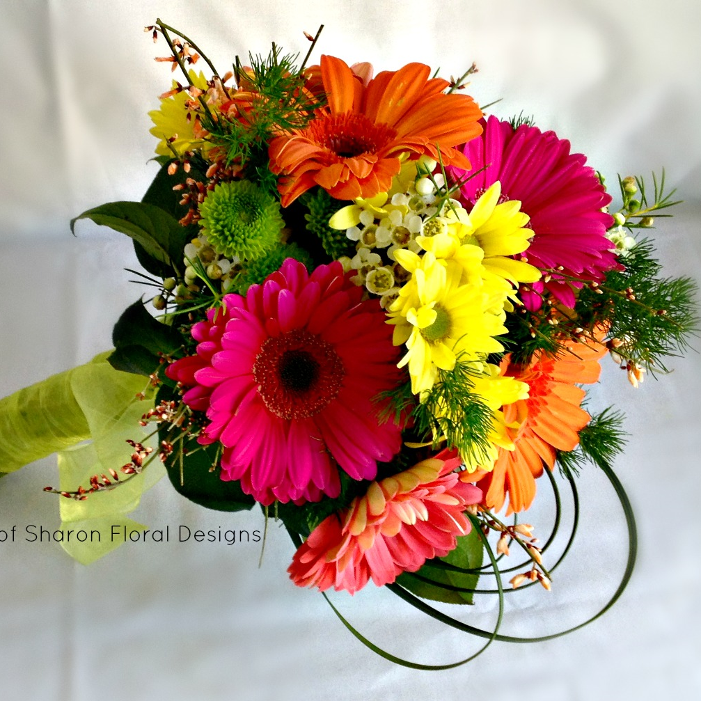 Multi-colored Bouquets -