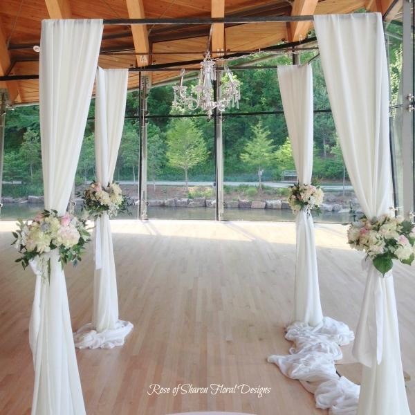 Ceremony Flowers - Aisles, Altars & Arbors
