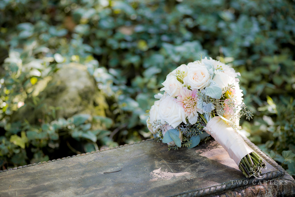 Blush bouquet. Two Carters Photography
