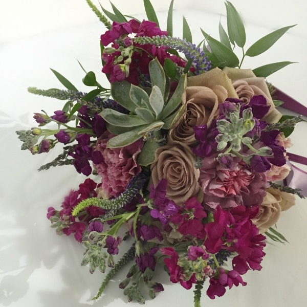 Purple Bouquets -
