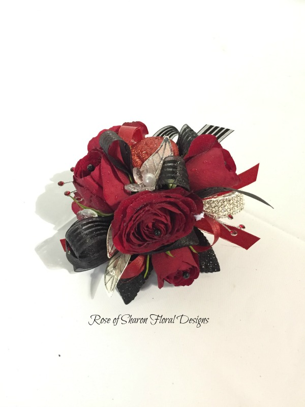 Red & Black Corsage - roses.jpg