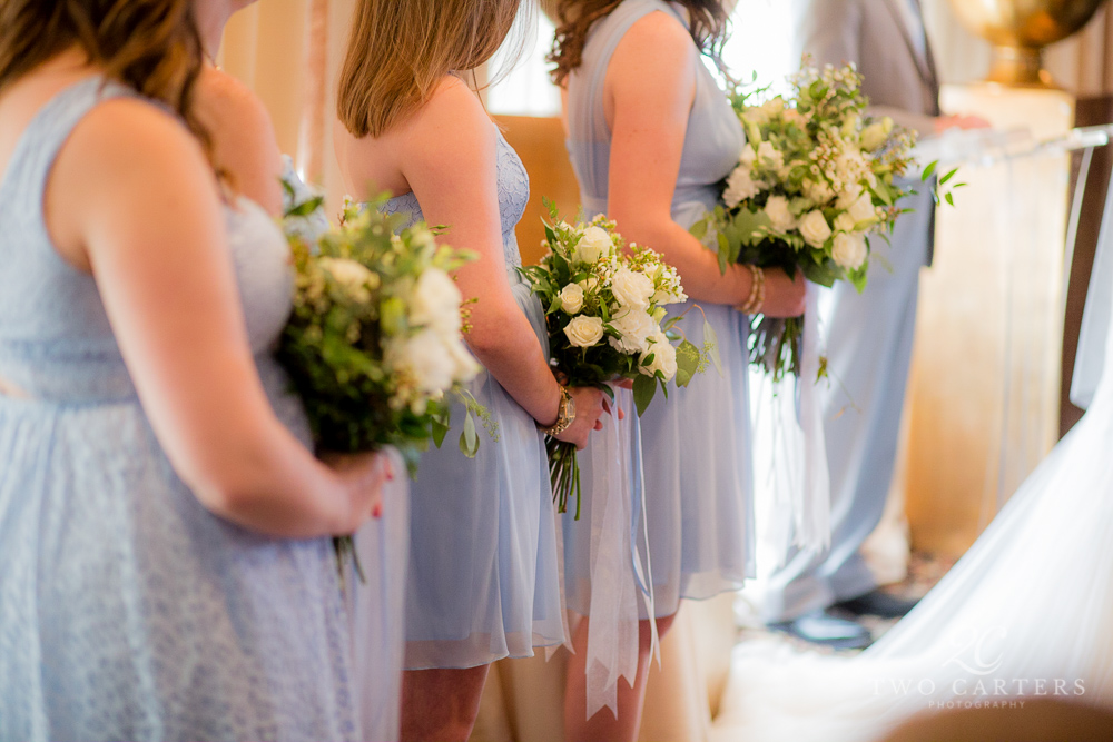 13. Organic bridesmaid bouquets. eucalyptus + roses. Inn at Carnall Hall. Two Carters Photography. Rose of Sharon Floral Designs..jpg