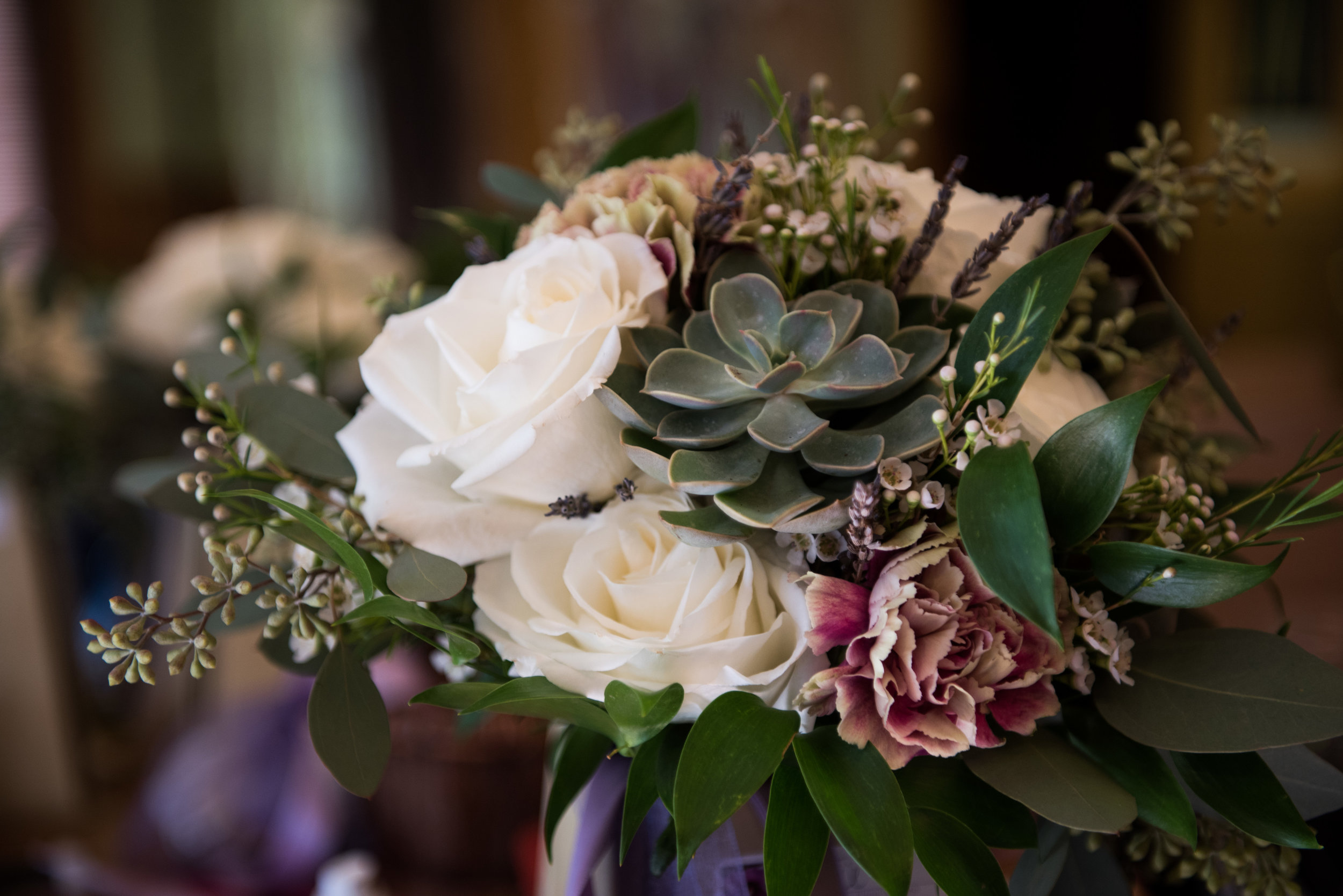05. Succulent & rose bouquet. Lavender + green. Jason Hudson Photography. The Garden Room. Rose of Sharon Floral Designs.jpg