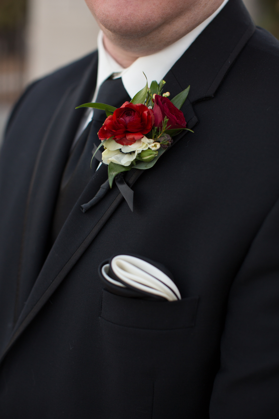 04. Erika Dotson Photgraphy. Rose of Sharon Floral Designs. blush & burgundy wedding. red boutonniere..jpg