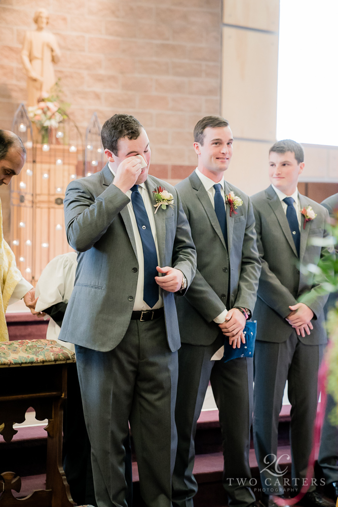04. Two Carters Photography. Most Joyful Day. Rose of Sharon Floral Designs.  Blush, Peach & Burgundy Wedding..jpg