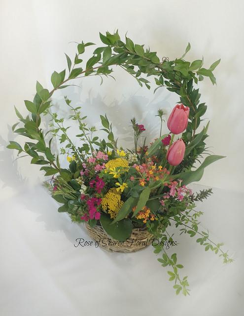 Organic Spring Garden