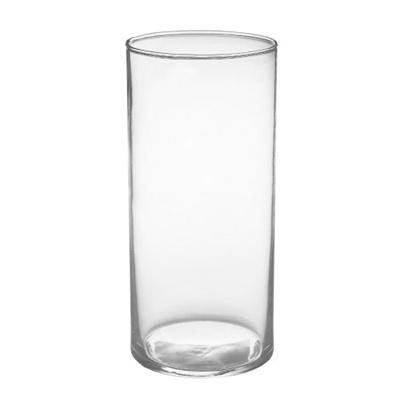 "7.75""x3.5"" cylinder vase"