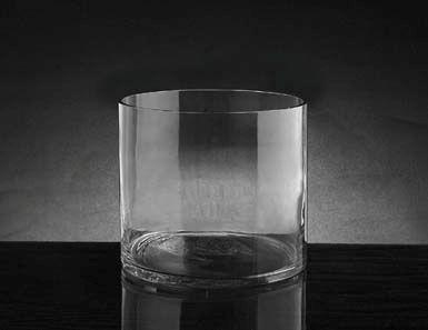 "4""x5"" cylinder vase"