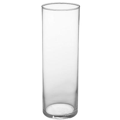 "10.5""x3.5"" cylinder vase"