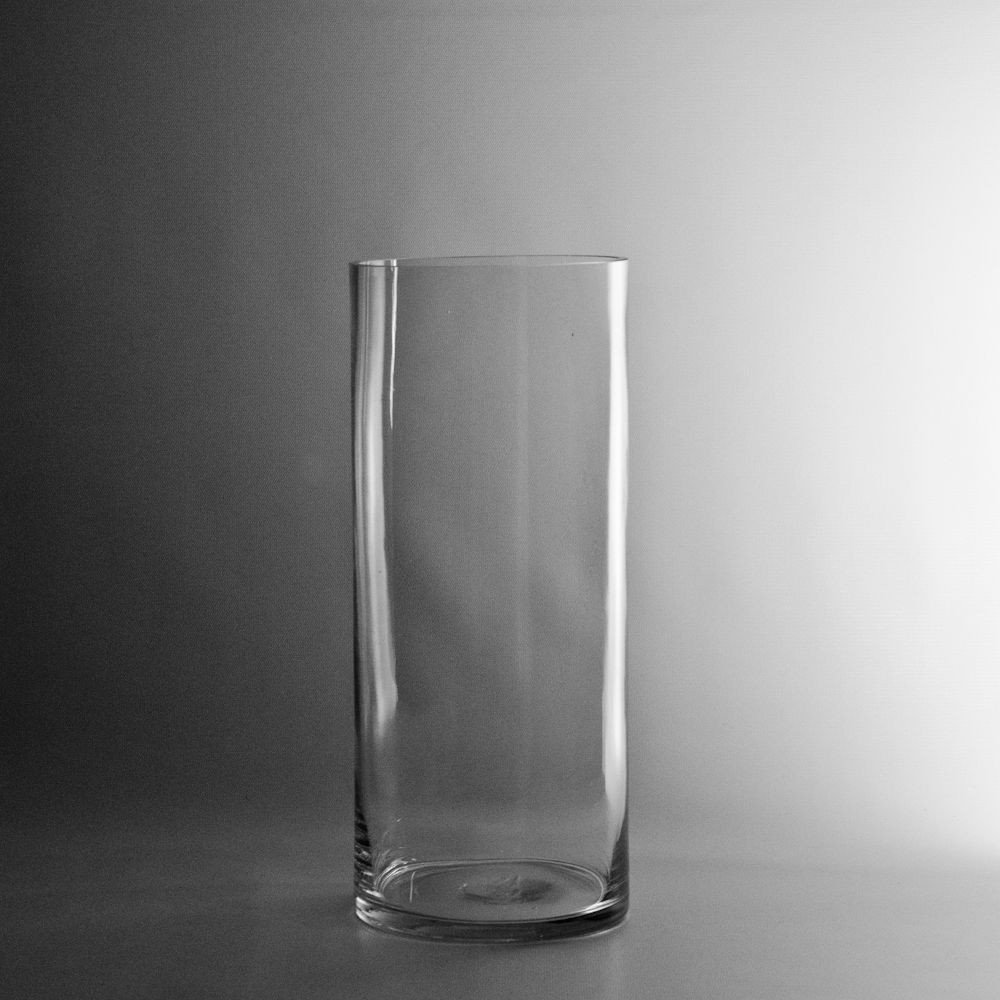 "14""x5"" cylinder vase"