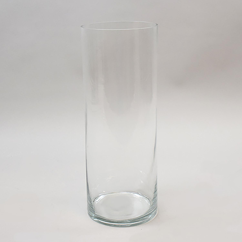 "16""x6"" cylinder vase"