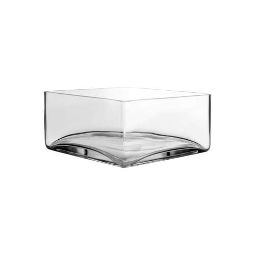 """8""""x8""""x4"""" glass tray"""