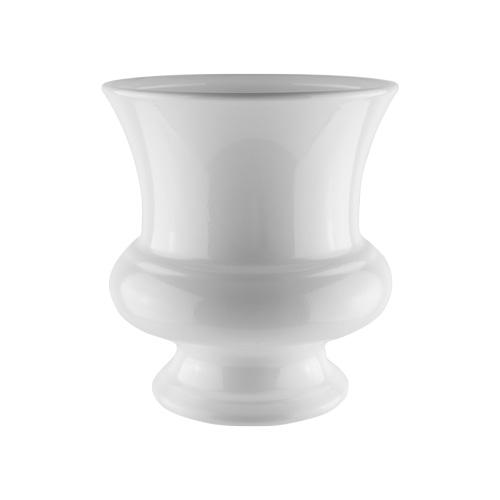 "7.5"" & 9"" white urn"