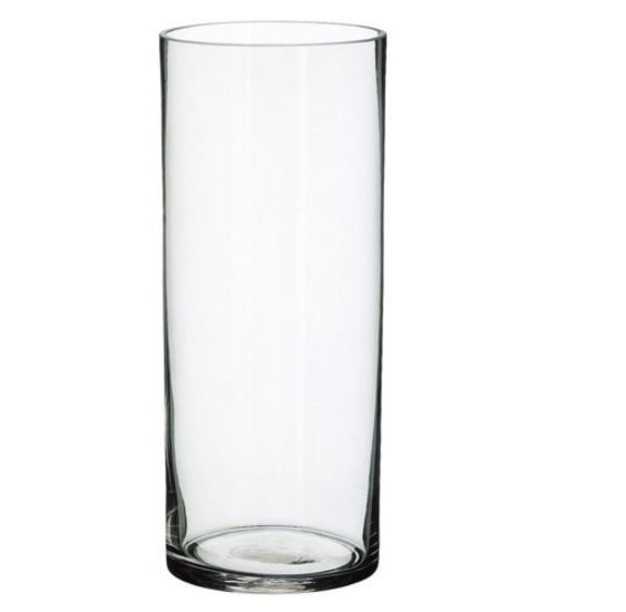 "14""x6"" cylinder vase"