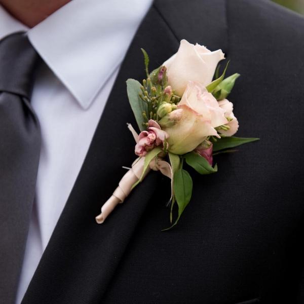 Jason Hudson Photography-pink boutonniere