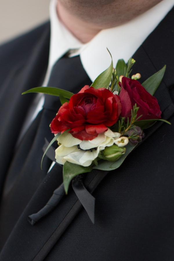 Erika Dotson Photography-red Boutonniere
