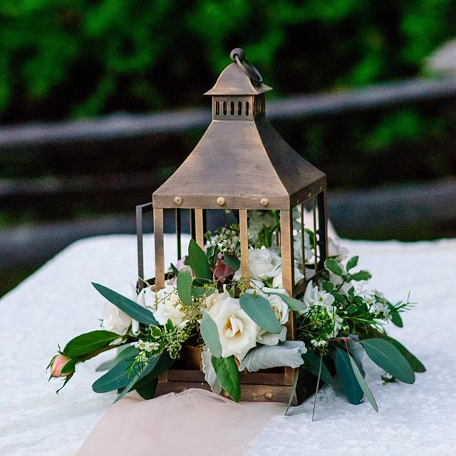 Trinity Ridge Photography - lantern centerpiece
