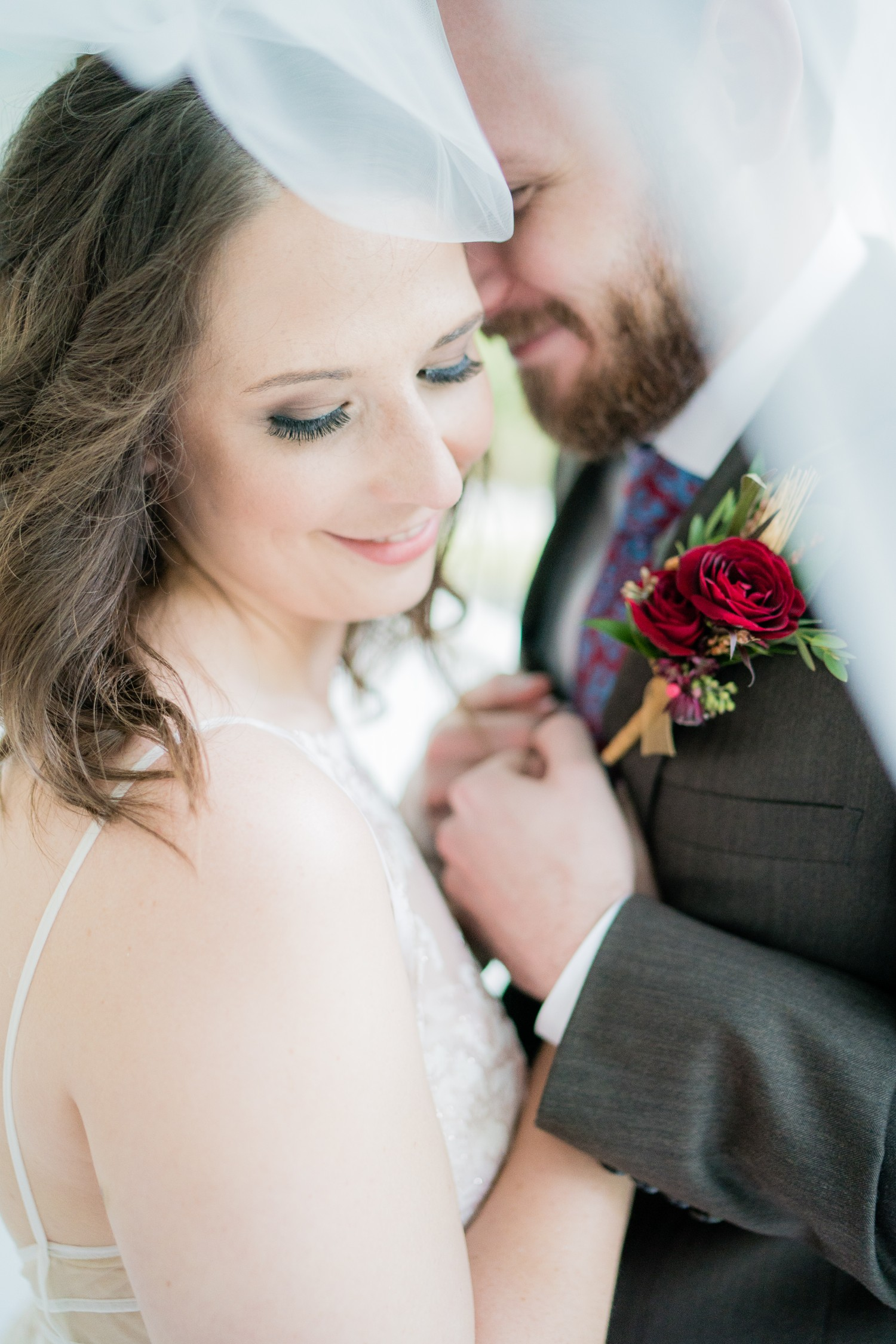 Fall Wedding at Pratt Place Organic Boutonniere, Rose of Sharon Floral Designs, Fayetteville, AR