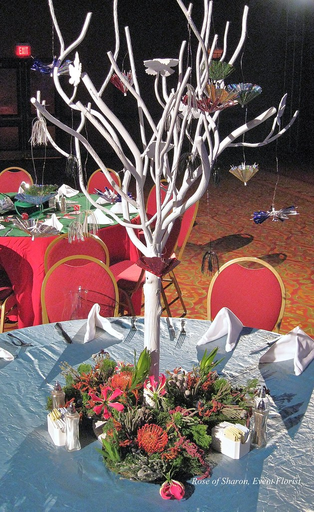 Tablescape inspired by the movie 'AVATAR'
