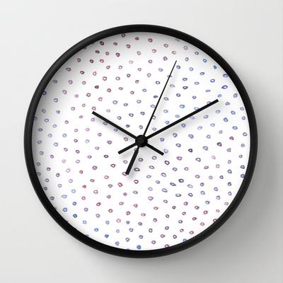 dots clock - emi ito illustration