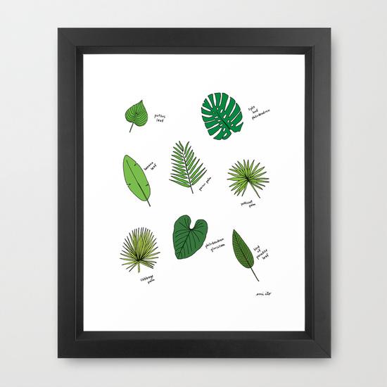 Palm Print - emi ito illustration