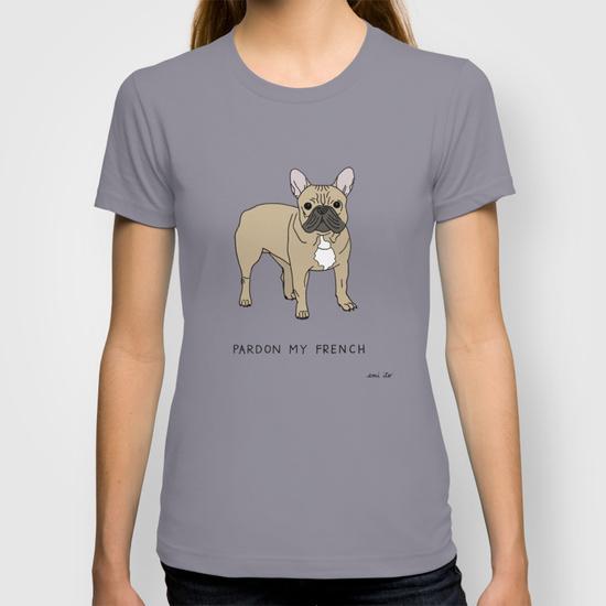 Pardon My French T-Shirt - emi ito illustration
