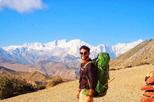 """Twenty days into hiking through Tibet, with no electricity or internet access I decided to write a letter to my probably terrified mother, an excerpt: 'It's been lovely to be disconnected from the world for the past 20 days, my books and my writing keep me company. We do as the locals do, going to sleep around 7-8 at night, every day after the hike I take my clothes to the local spring, where half the village can be found, like I said the dust is intense so I must wash them daily, within minutes of arriving at the spring and starting to wash my clothes, inevitably, the rest of the village shows up to watch this silly foreigner attempt to wash his clothes, usually some older women with smiling eyes will silently grab my clothes and start to wash them once they realize I have no idea what I'm doing. The Tibetan people are remarkable, they look for every excuse to laugh, not a day goes by where we aren't invited to someone's house for butter tea, I can't walk down the street without someone yelling """"Namaste! Where from?' Amongst other things, I learned the value of community, and that in that harsh climate selflessness and kindness were the key to survival. I carry these lessons with me everyday. #maroonedinthehimalayas #cheesin"""