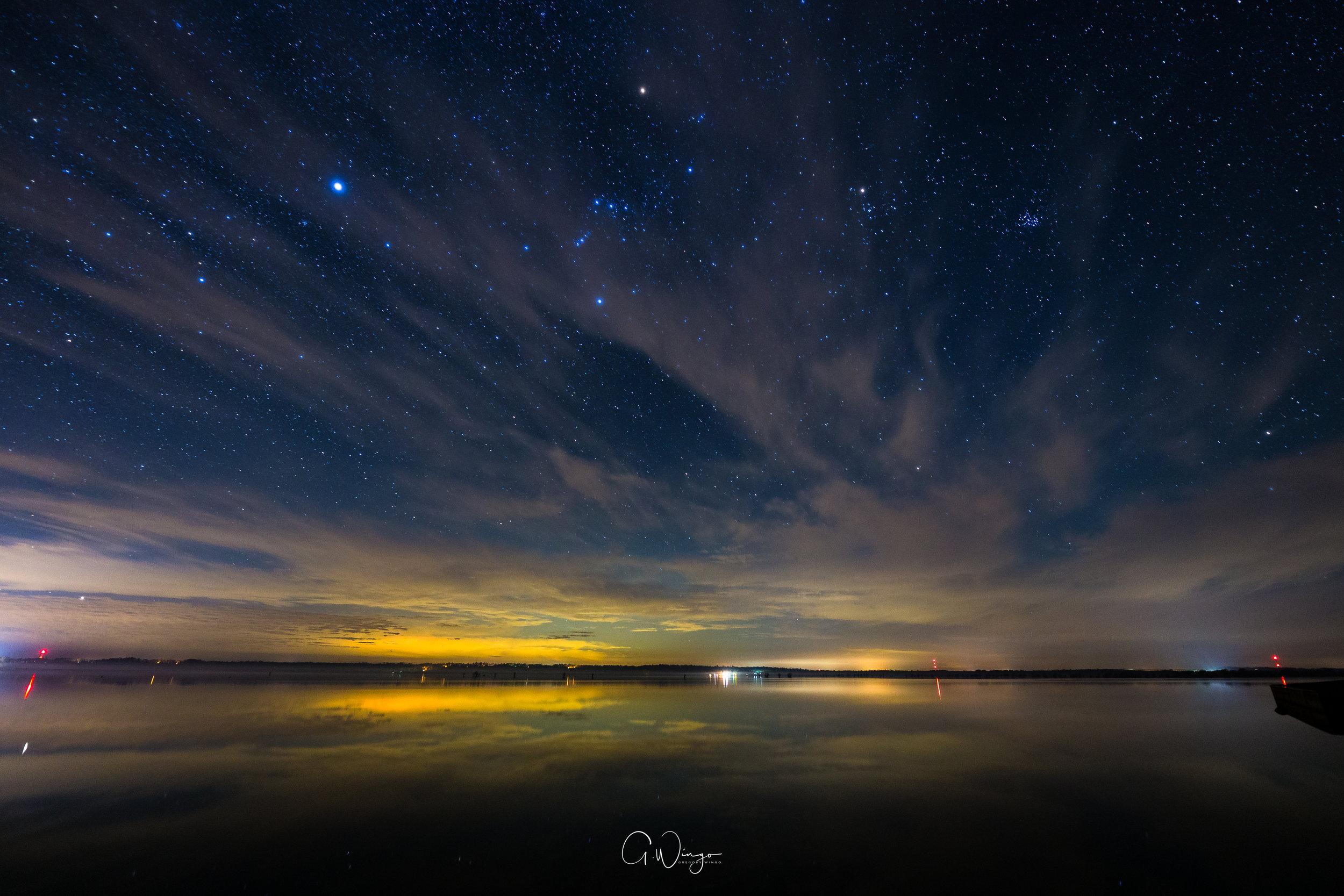 Martin Dies, Jr. State Park - Milky Way