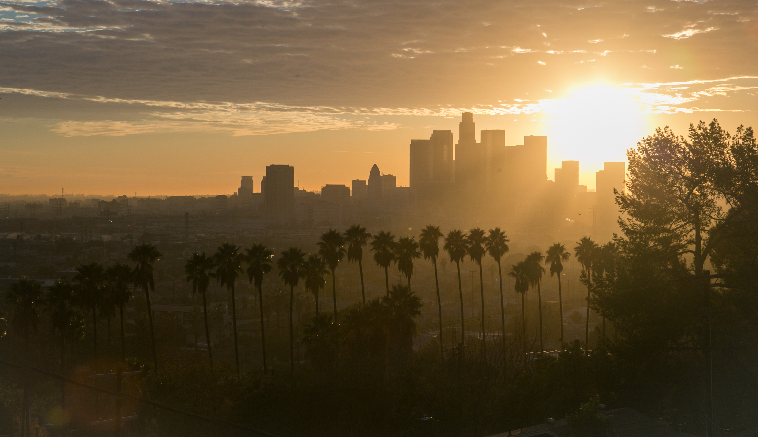 Downtown, Los Angeles. California.