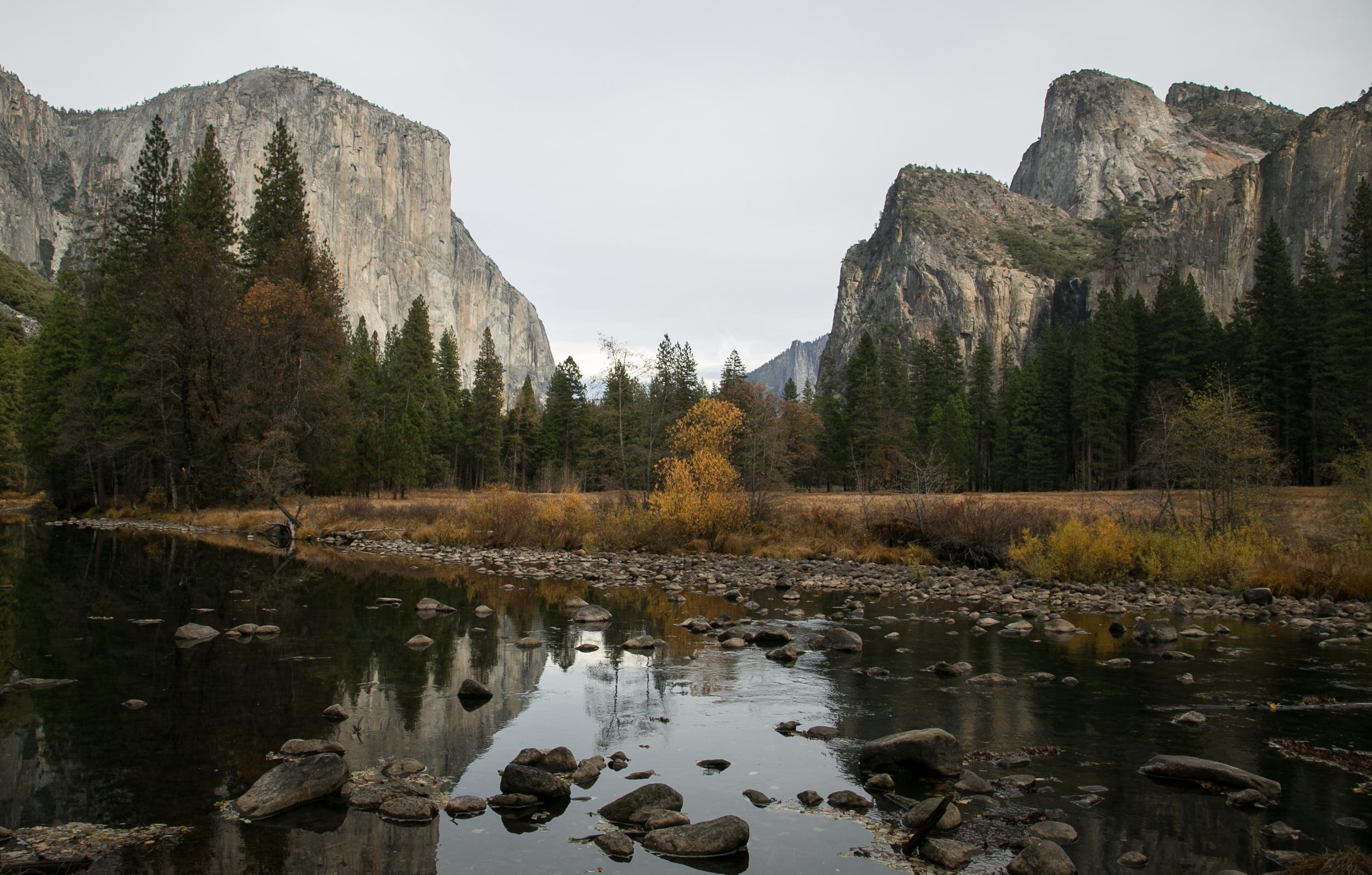 Yosemite Valley, Yosemite National Park. California.