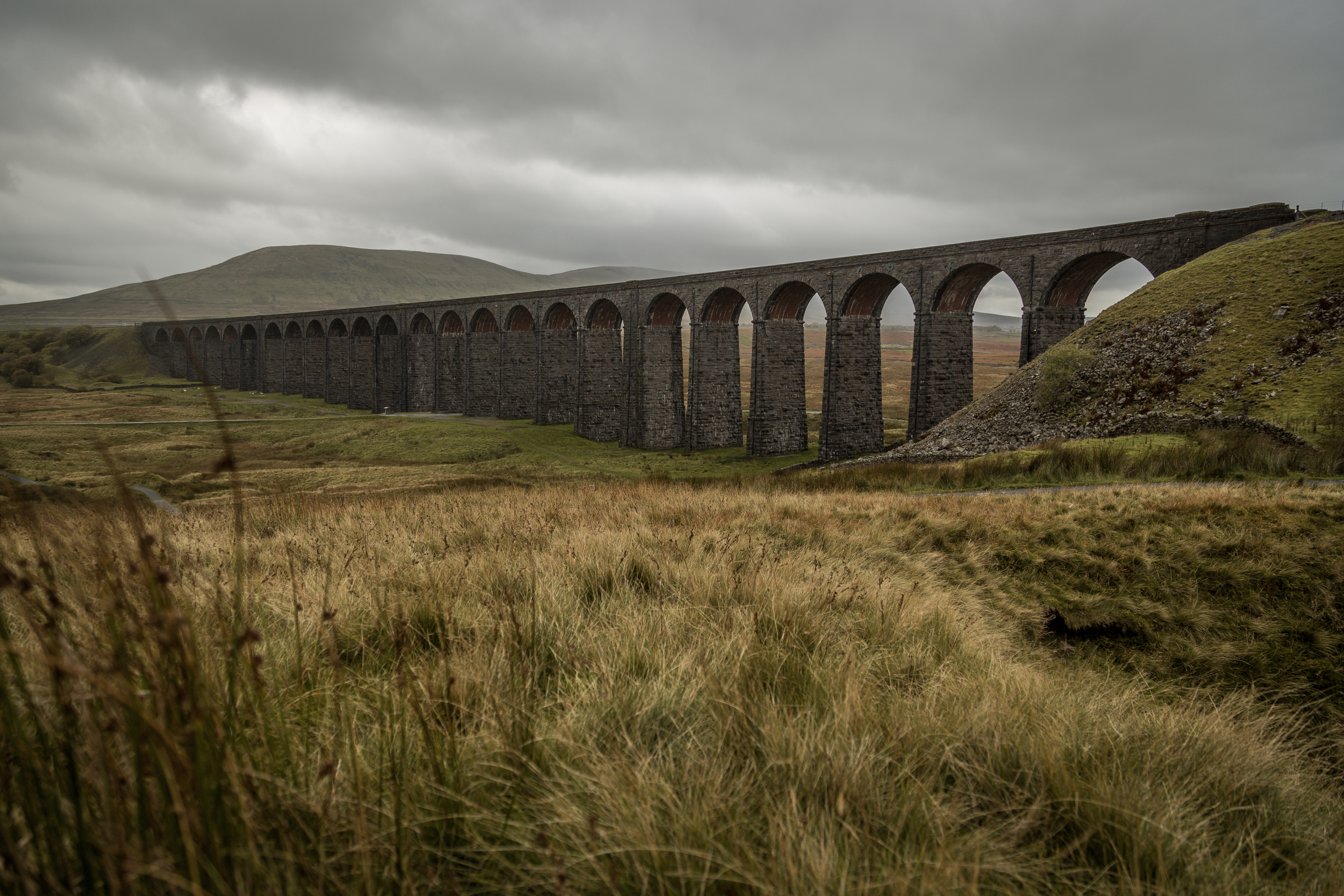 Ribblehead Viaduct, North Yorkshire. Cumbria.