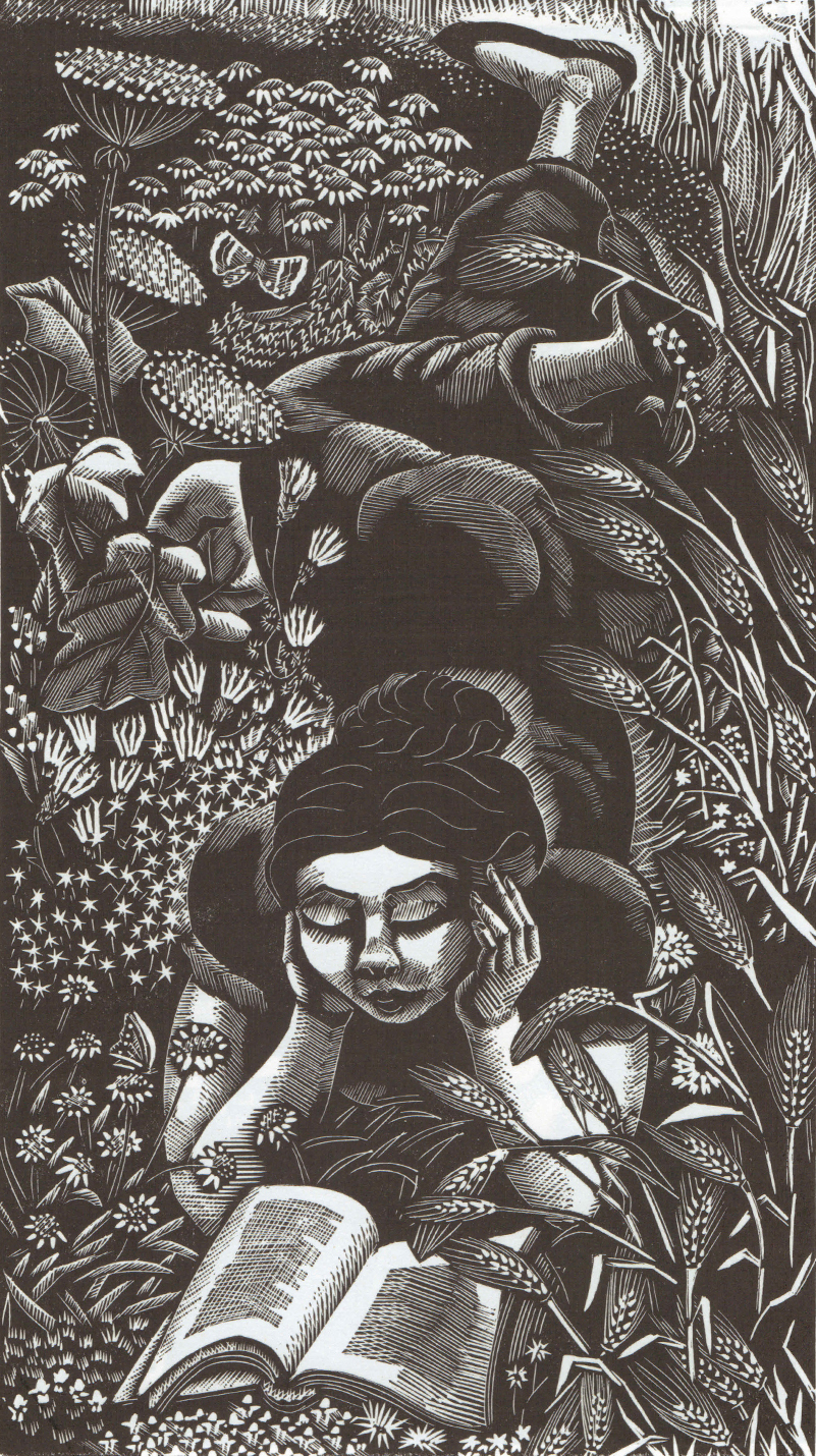 Maggie Reading   . © The Golsoncott Foundation