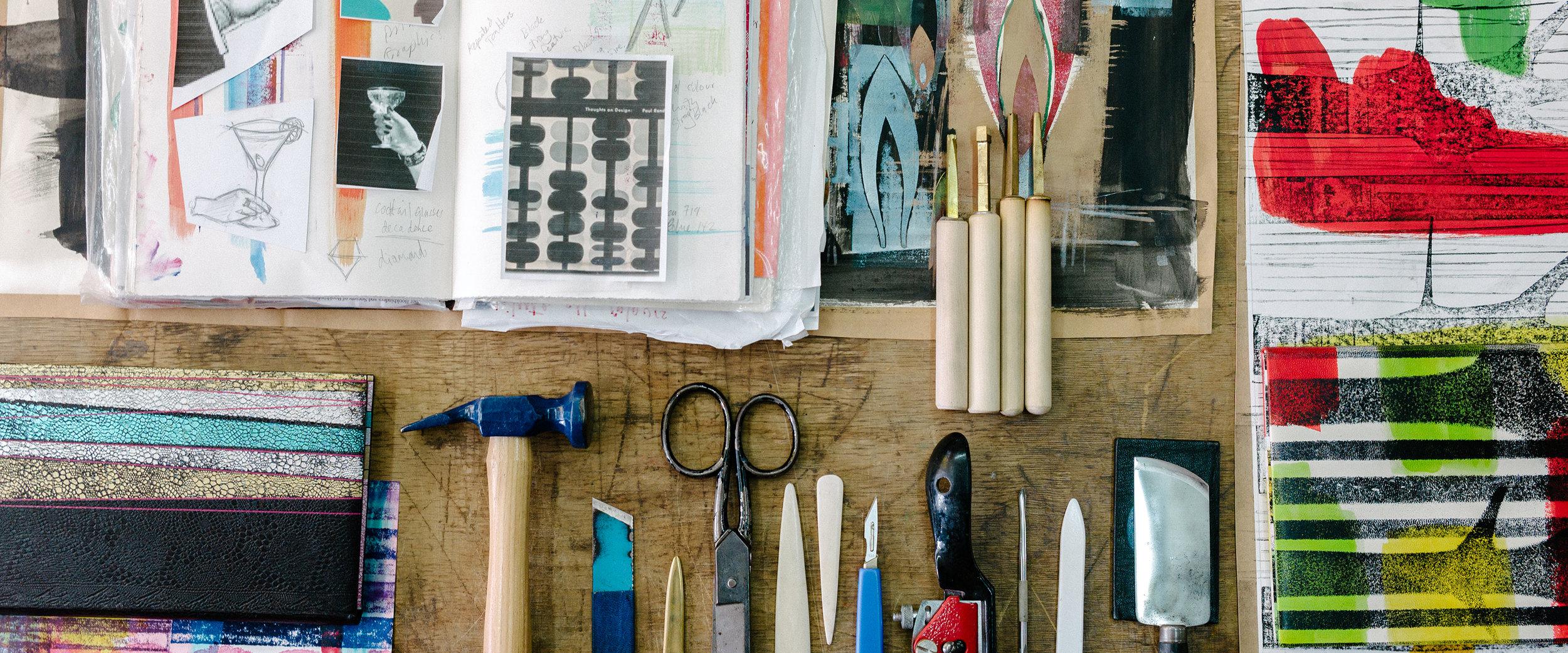 design bindings. -