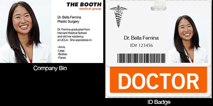 Headshot for bio page and ID