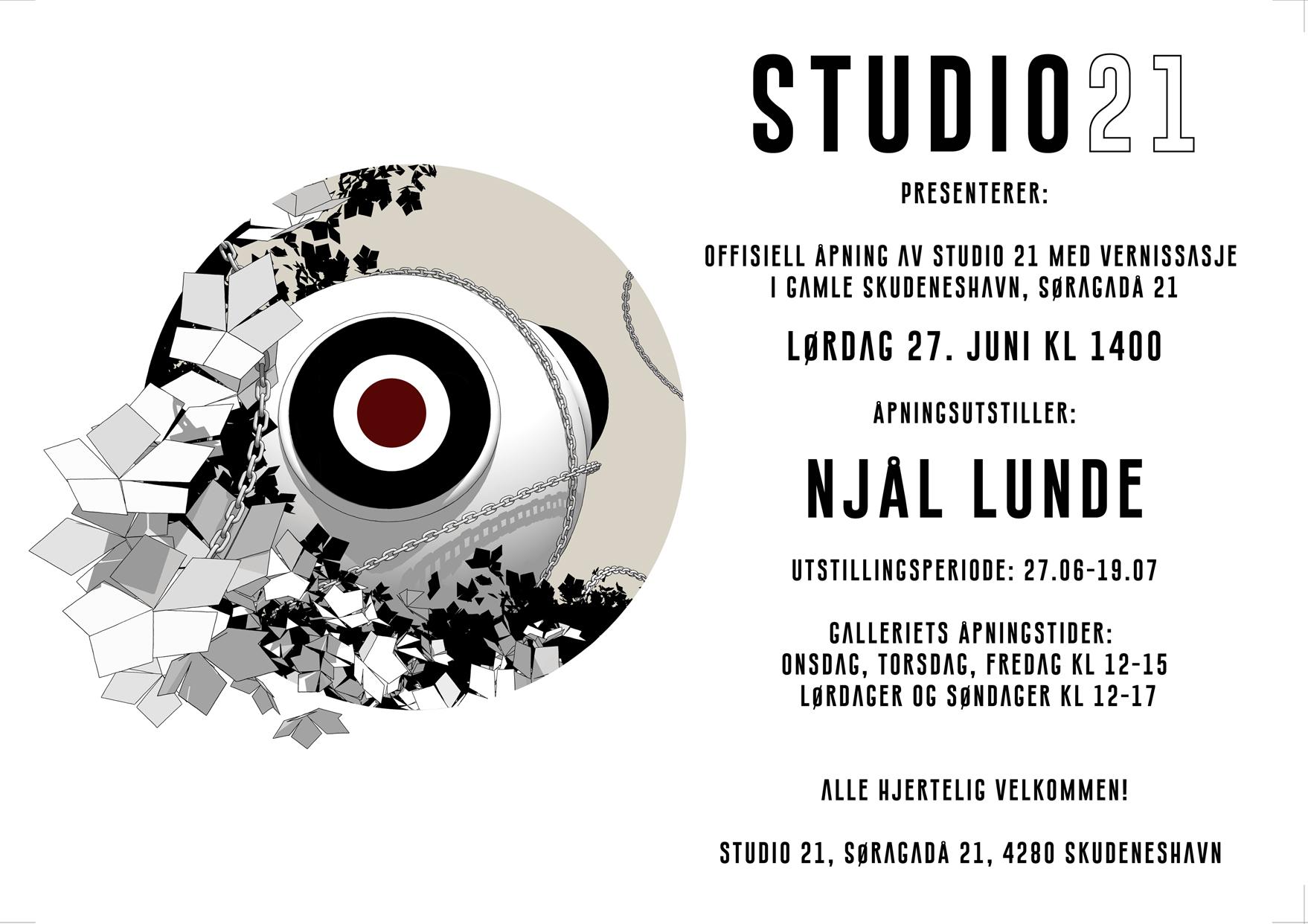 Studio 21 invitasjon