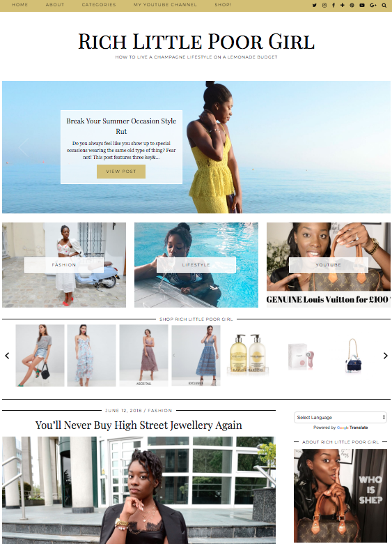 COPYWRITING |  I also collaborate with popular brands such as Boohoo and House of Fraser, producing high-quality, sponsored content on my growing personal lifestyle blog.