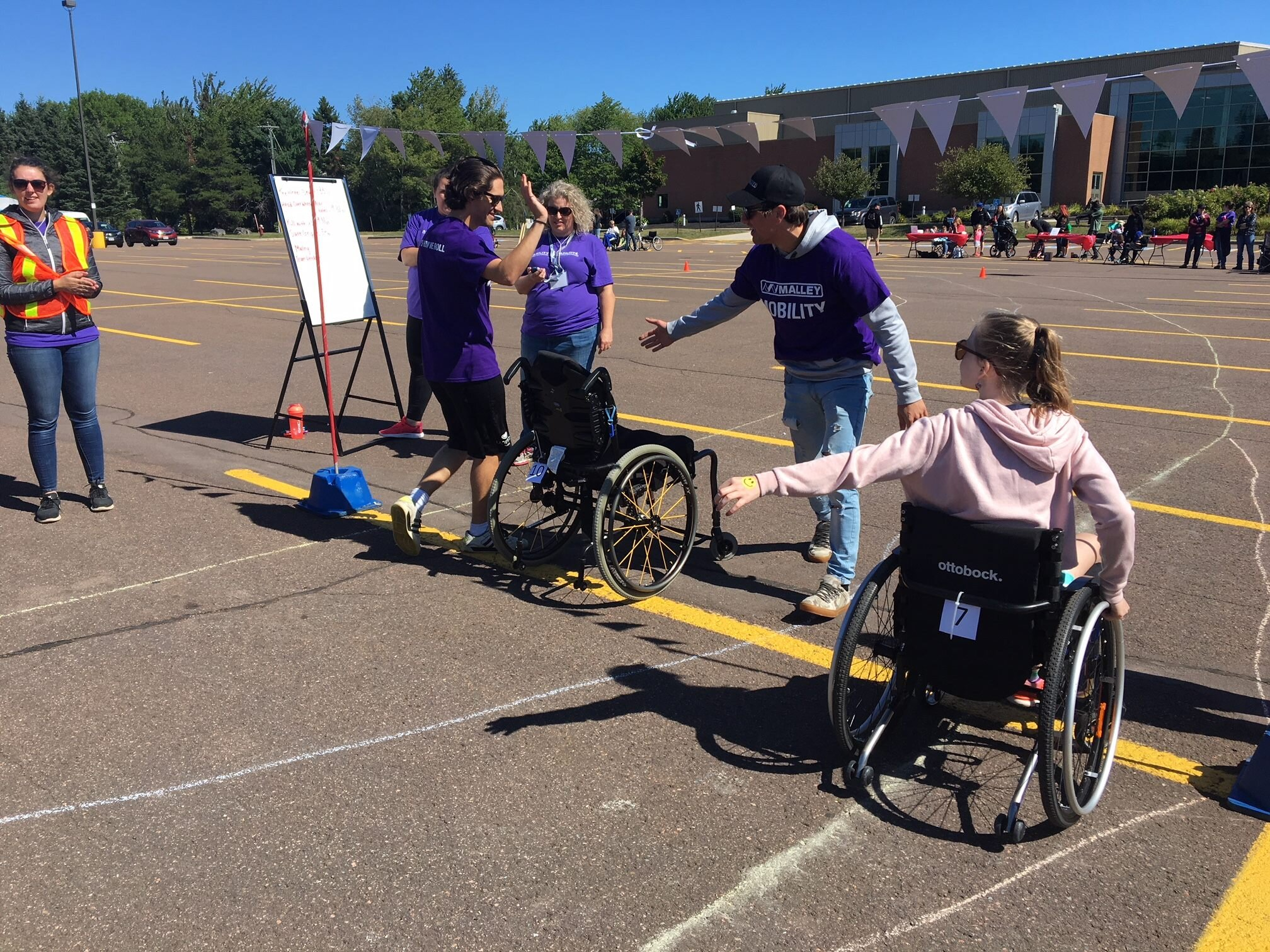 2018 Wheelchair Challenge in Moncton