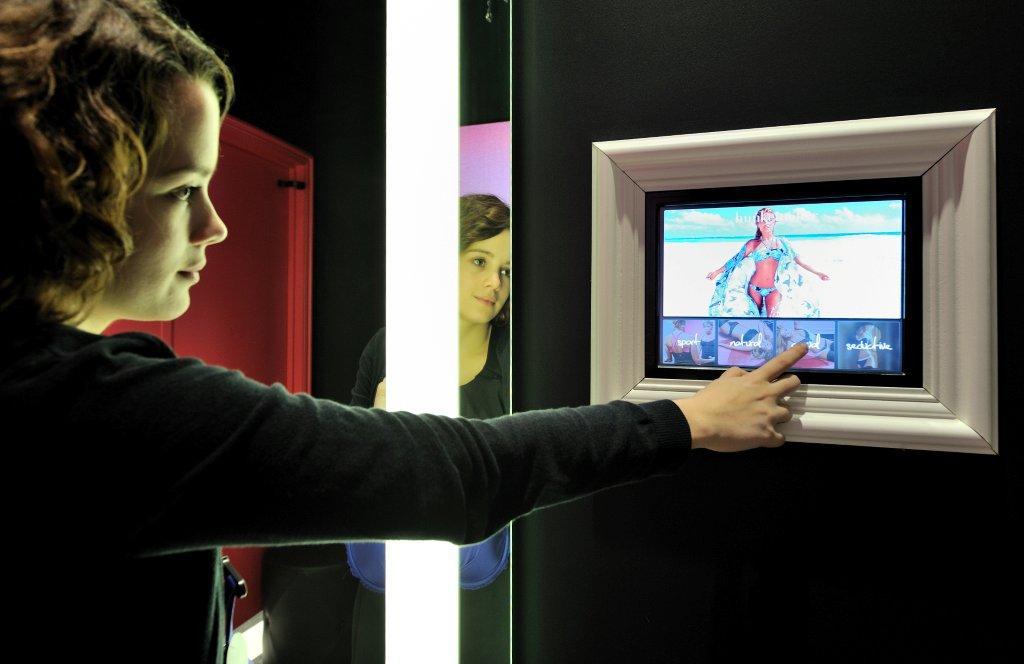 Hunkemoller smart dressing room