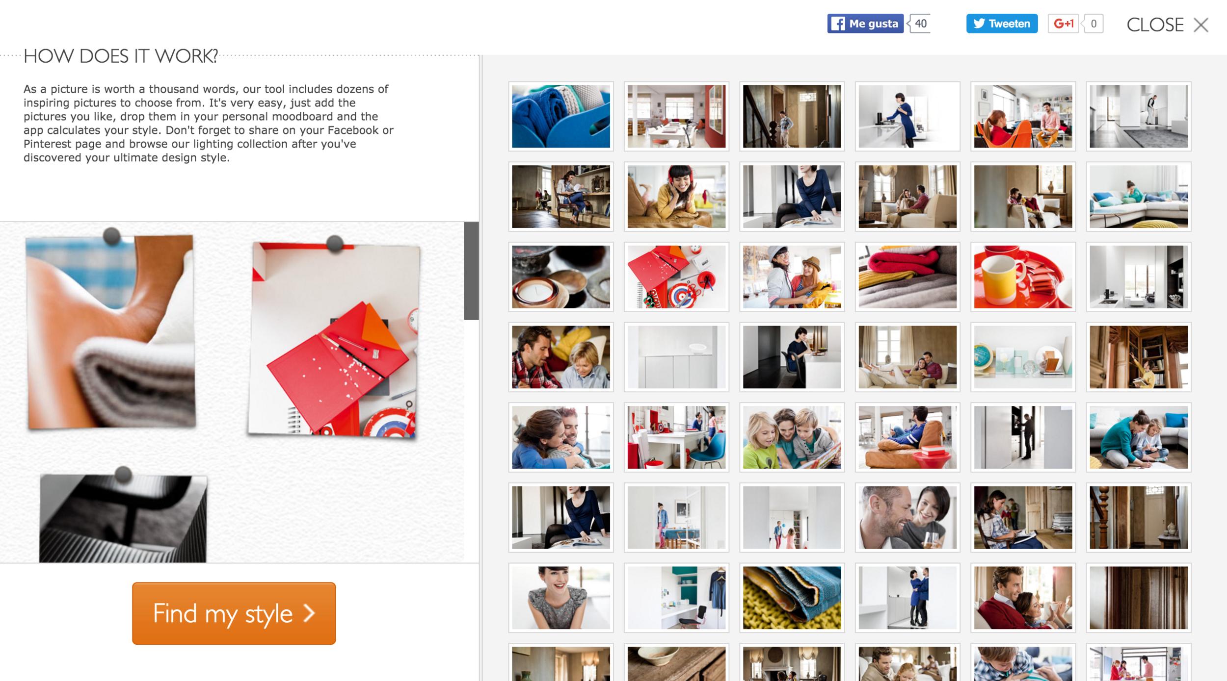 Philips Buscador de Estilos - Style Finder