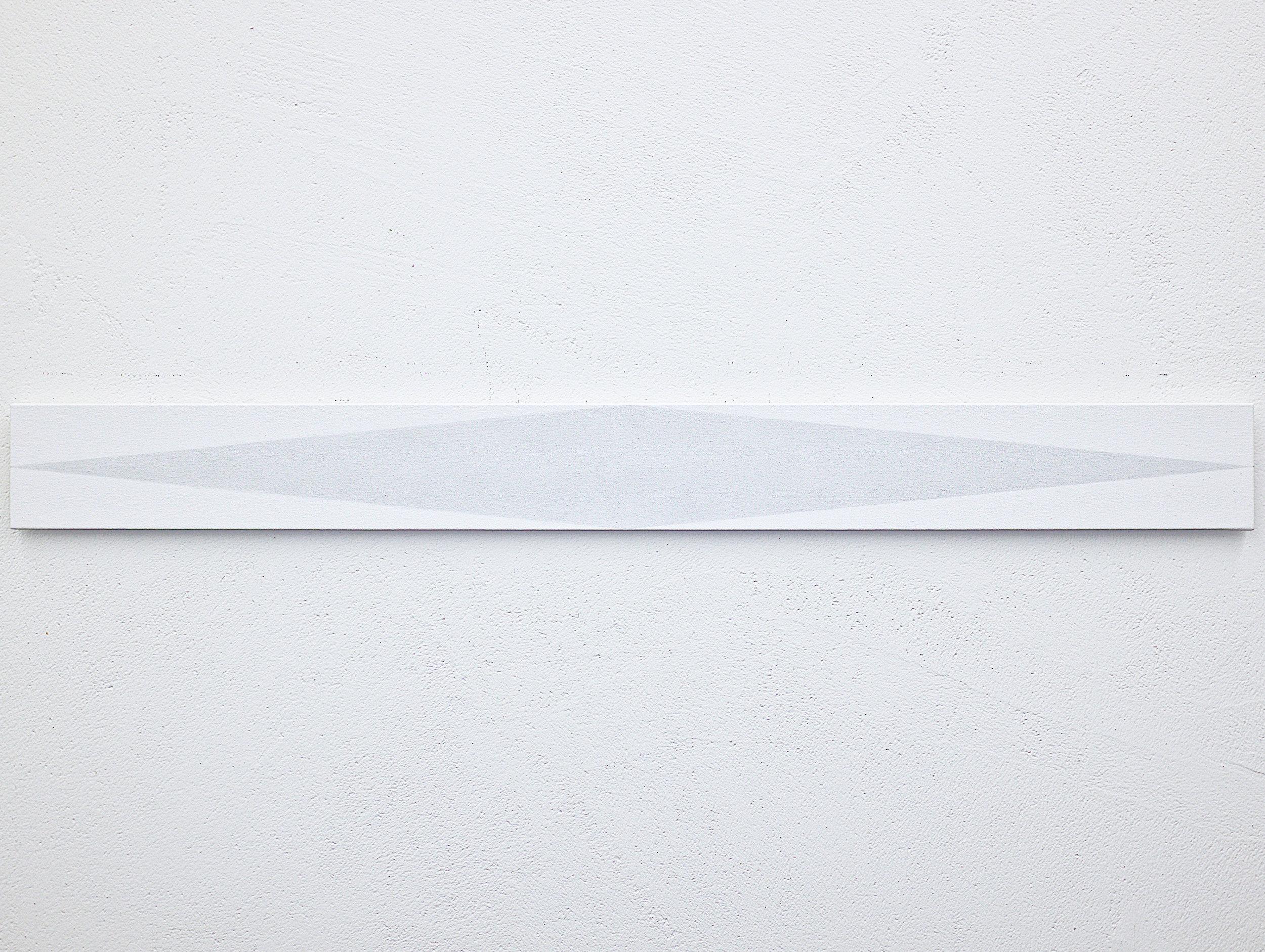 bild nr. 01.2/2017 - 10 x 100cm - acryl auf baumwolle/alu