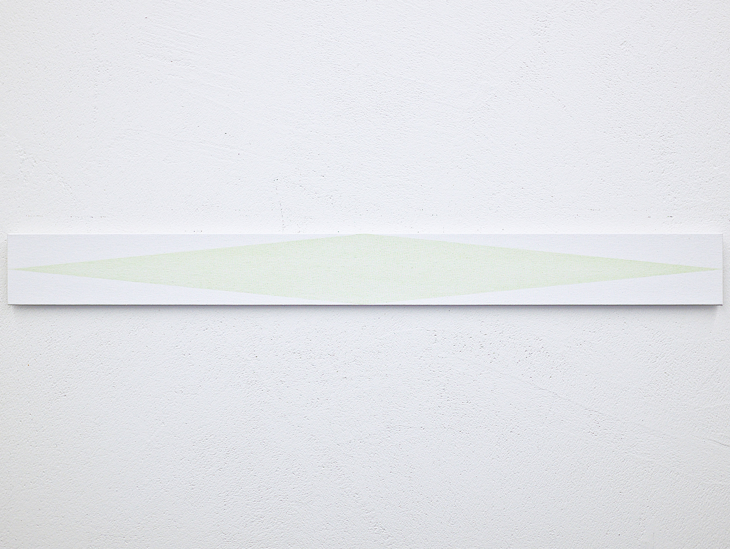 bild nr. 01.3/2017 - 10 x 100cm - acryl auf baumwolle/alu