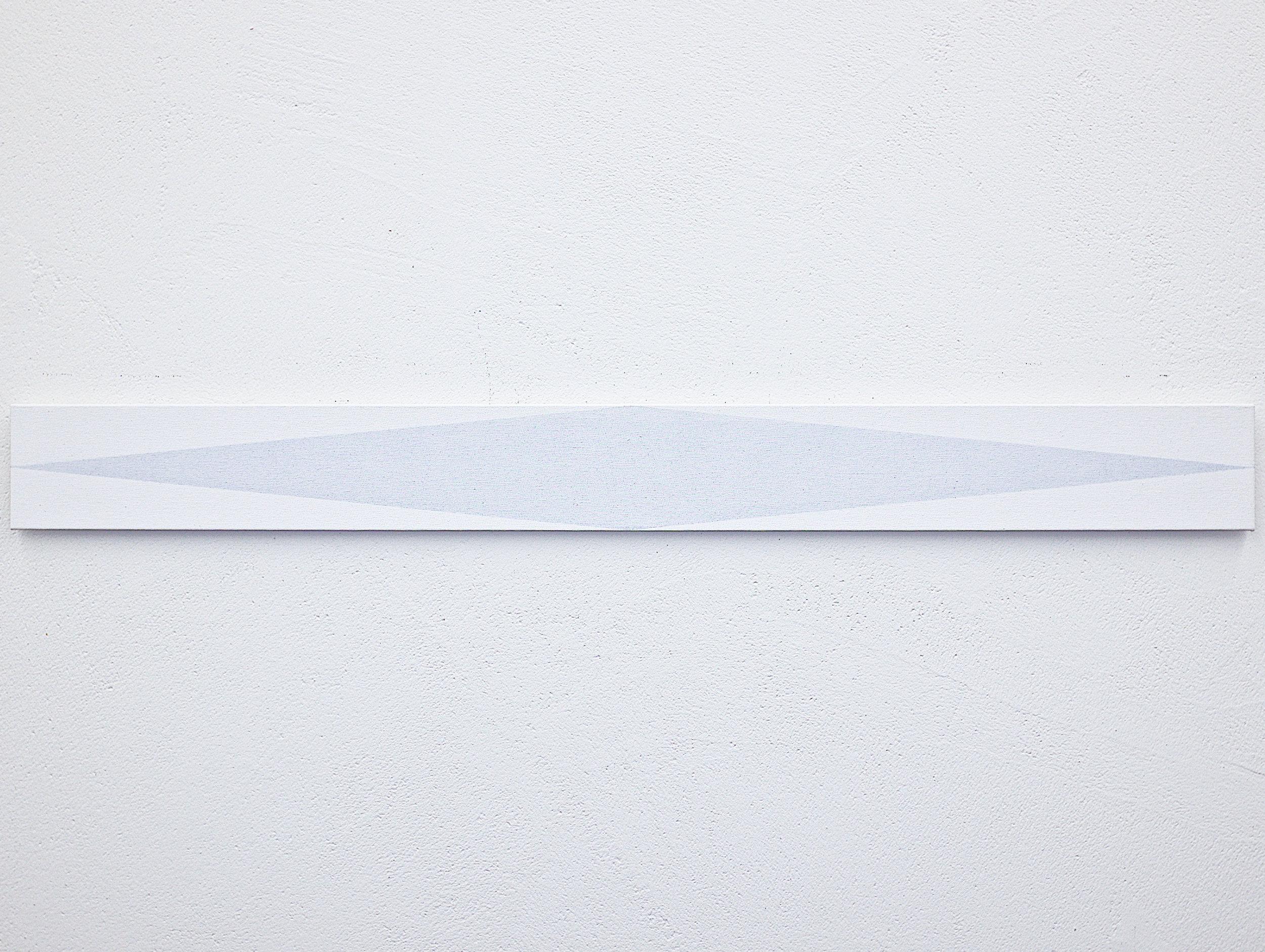 bild nr. 01.4/2017 - 10 x 100cm - acryl auf baumwolle/alu