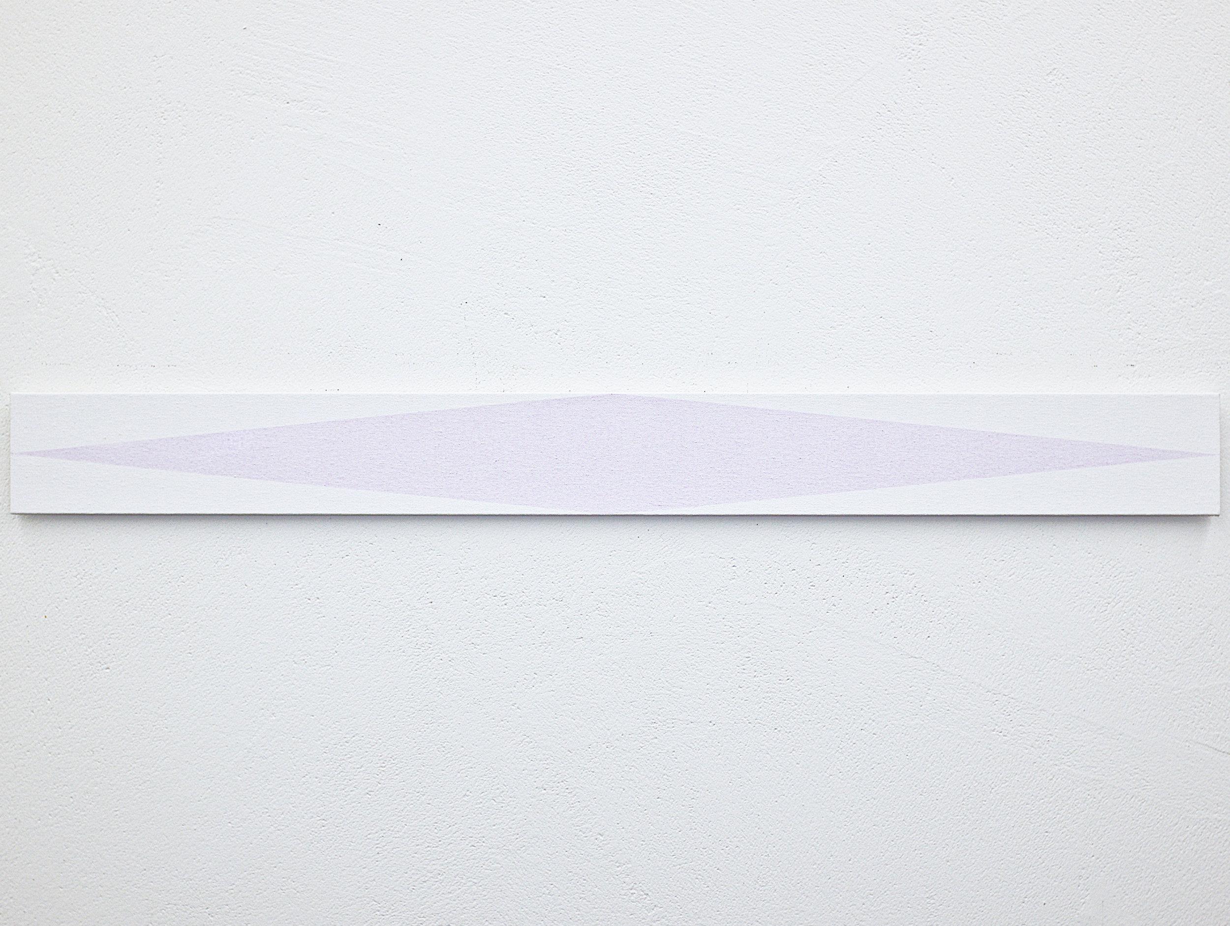 bild nr. 01.6/2017 - 10 x 100cm - acryl auf baumwolle/alu