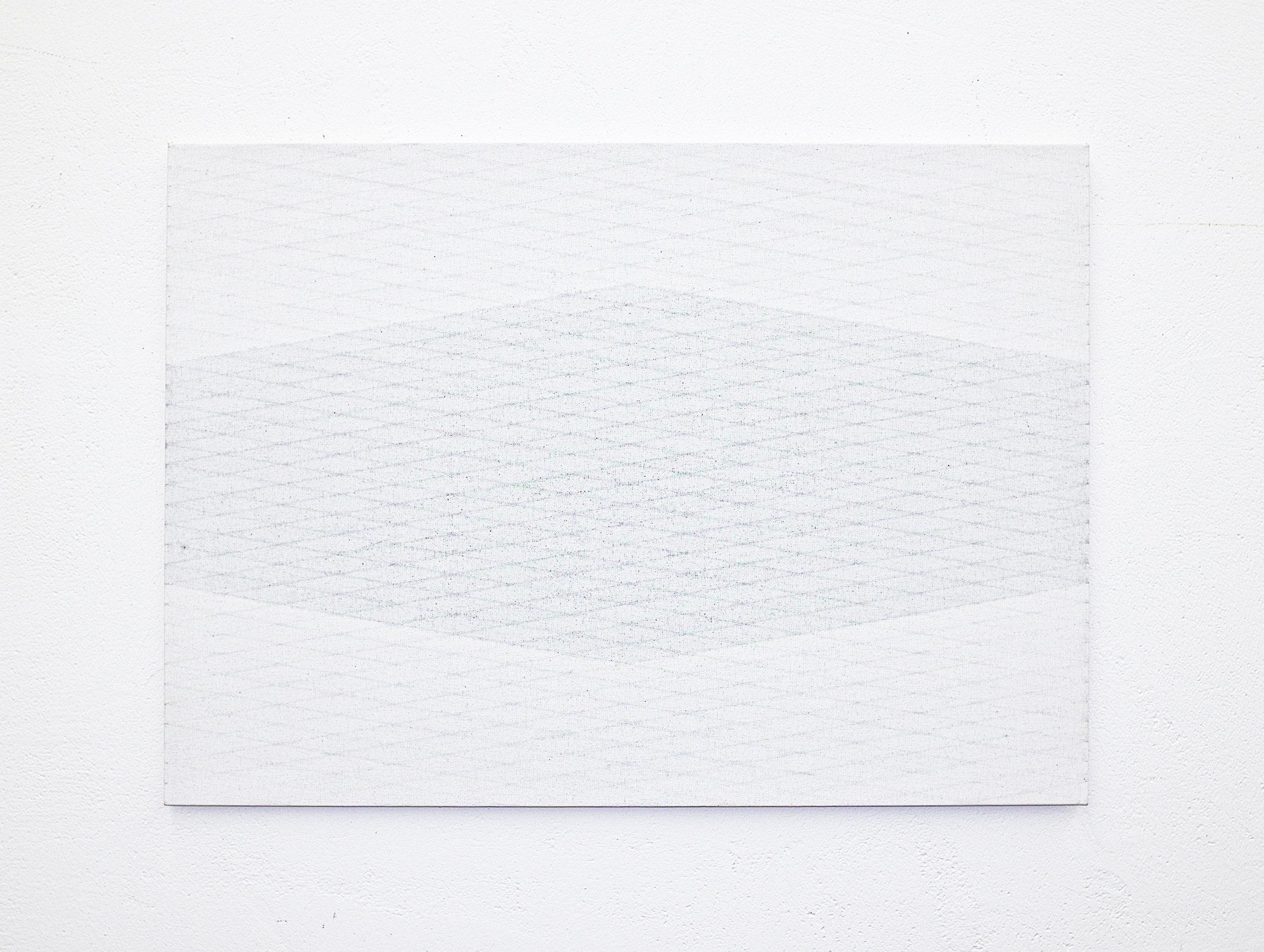bild nr. 06/2015 - 50 x 70cm - acryl auf baumwolle/alu