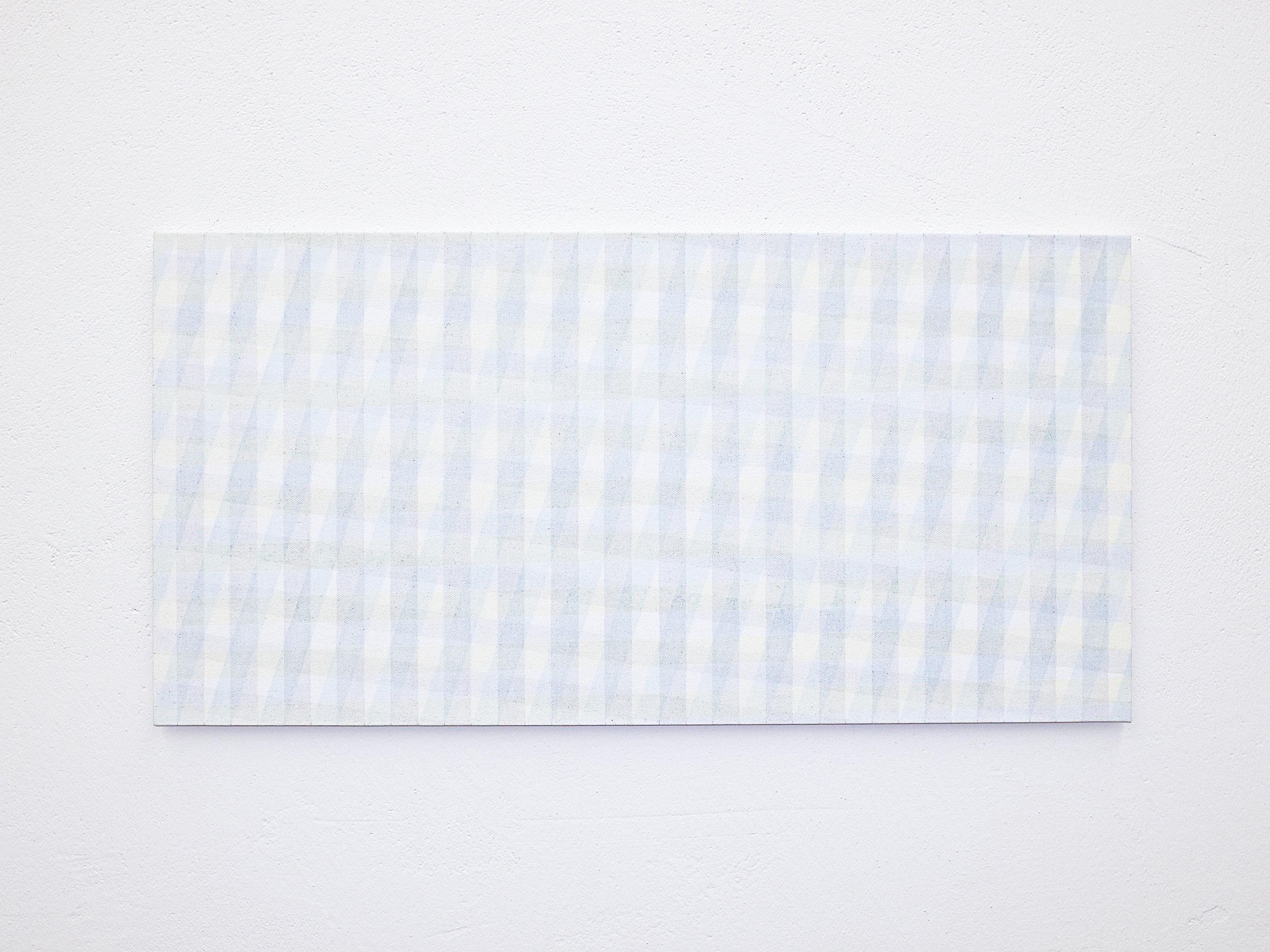 bild nr. 04/2019 - 35 x 70cm - acryl auf baumwolle/alu
