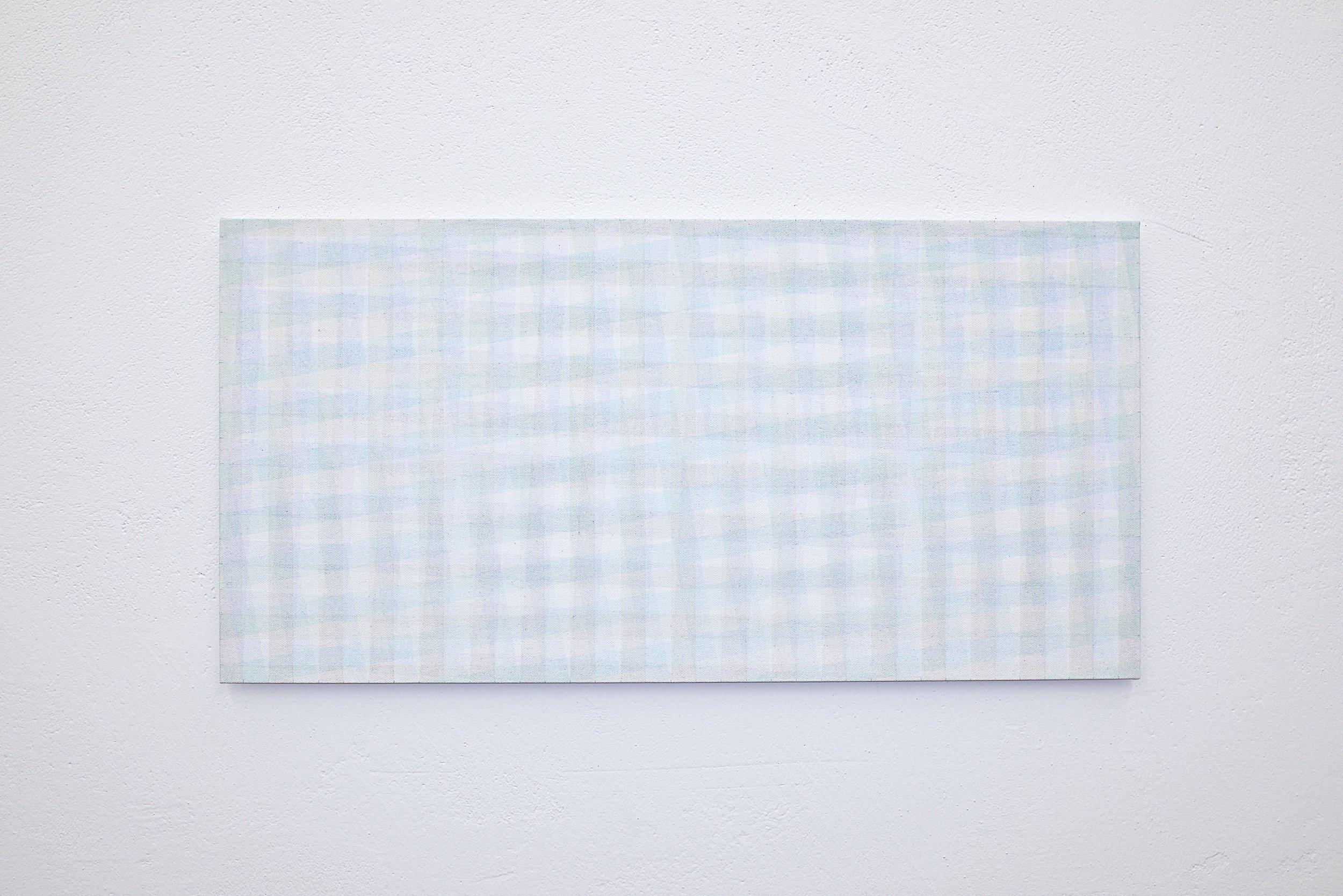 bild nr. 05/2019 - 35 x 70cm - acryl auf baumwolle/alu